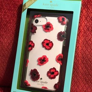 "Kate Spade ""poppy"" iPhone case"